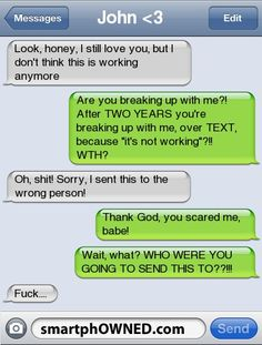 ... - Relationships - Feb 7, 2011 - Autocorrect Fails and Funny Text Messages - SmartphOWNED