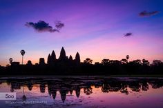 Angkor Wat Cambodia by fdepasse - Pinned by Mak Khalaf