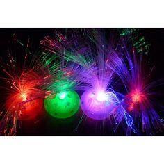 Kids Bedroom Night cool led color changing fiber optic night light lamp for kids