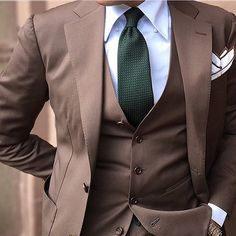 Suit in Mid Brown #danielrecollection by @danielre