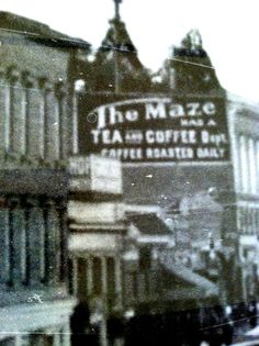 Vintage photo in the McNear building in downtown Petaluma, CA. Zippertravel.com Digital Edition