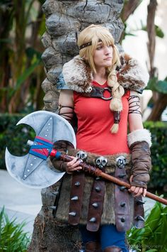 How to Train Your Dragon Astrid Skulls for Costume
