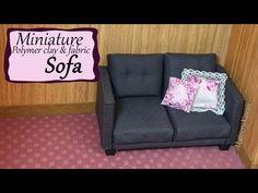 Miniature Doll Sofa Tutorial