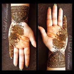 Henna'ing My hand #hennacrazy #Henna #hennaart #hennadesign #hennadesign #hennatattoo #mehndi #mehndidesign #mehnditattoo #tattoo #wristtattoos #bodyart #art #fashion #style #glamour #instafashion #instamood #love #funtimes #hennaday
