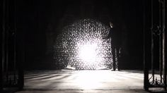 """Robotic Lotus Flower Dome Turns House Of God Into A """"Techno-Church"""" 