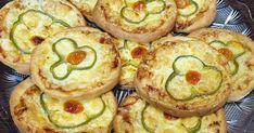 Ατομικά πιτσάκια που θα σου τρέχουν τα σάλια Zucchini, Sushi, Pizza, Vegetables, Ethnic Recipes, Food, Bebe, Veggies, Essen