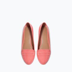 ZARA - TRF - MOCCASIN WITH DECORATIVE BAND