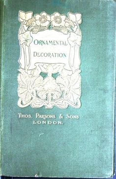 A few suggestions for ornamental decoration : a...
