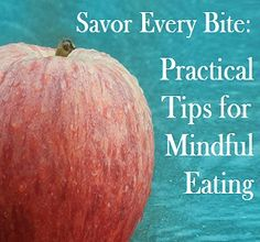 Here are practical tips for mindful eating, so you can eat less, enjoy your food more and be healthier! Health And Wellbeing, Health And Nutrition, Health Fitness, Eating Quotes, Stress Management Techniques, Before And After Weightloss, Binge Eating, Intuitive Eating, Mindful Eating