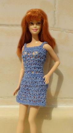 Crochet dress for my Barbie