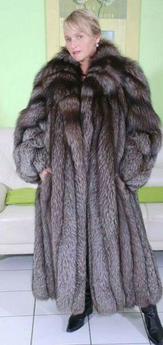 Stylish Silver Fox | Exotic Fur 5 | Pinterest | Fur, Foxes and Fox fur