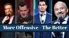 20 Most Offensive Stand-Up bits Comedy Specials, Stand Up, Good Things, Funny Videos, Youtube, Men, Get Back Up, Guys, Youtubers