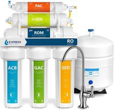 100 GPD Reverse Osmosis Universal Sized Membranes Film by GE - Drinking RO//DI