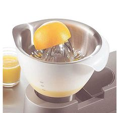 The Kenwood Citrus Press Juicer extracts the juice from all citrus fruits quickly and with little effort.