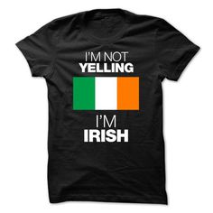 awesome I love IRLANDA Name T-Shirt It's people who annoy me