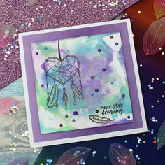Card created using For the Love of Stamps by Hunkydory Crafts Chase your Dreams Stamp Set