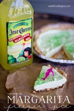 Margarita Freezer Pie via @sweetcsdesigns