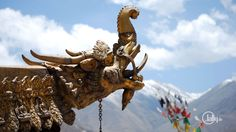 Roof of the Yokhan-Temple in #Lhasa #Tibet find out more at www.jally.de/tibet