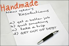 20 #Handmade Business Resolutions for 2012, blog post by Donna Maria