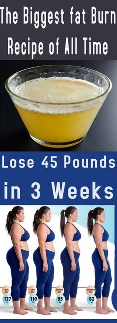 Lose Weight 45 Pounds in 3 Weeks