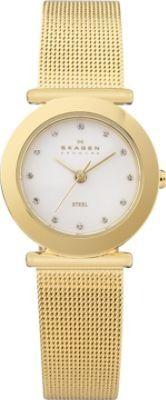 Gold Tone Mesh Steel Women's Watch Gold