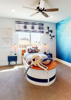What little boy wouldn't love this fun bedroom theme!! From Lennar Homes