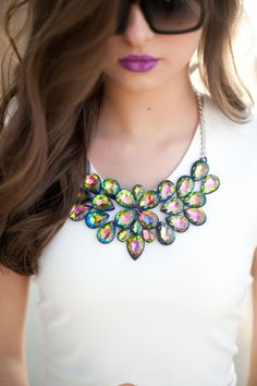Jewelry - Necklace and Sunglasses