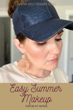 Summertime can be a crazy busy time for moms, and it is easy to let things slide. Discover my simplified method for a summer makeup look that is ready in minutes. Keep your skin fresh all summer long with this tutorial! Easy Summer Makeup is totally possible for busy moms no matter your schedule! With Seint Beauty, you don't have to choose between looking great and being the mom you want to be. www.kellysnider.com Everyday Makeup Routine, Daily Beauty Routine, Beauty Tips For Hair, Diy Beauty, Messy Hair Look, Makeup For Moms, How To Apply Blush, Summer Makeup Looks, Makeup Tutorial Step By Step