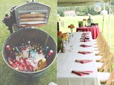 7 Ways to Thank Guests at a Wedding - provide plenty of drinks (photo by mcmd photography)