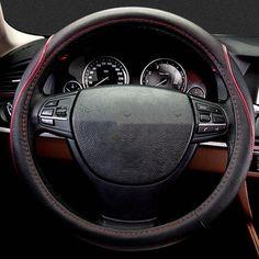 Car steering wheel cover for BMW F01 F02 F04 F06 F07 F10 F11 F12 F13 F20 F21 f22 f23 F30 F31 F32 F33 F34 F36