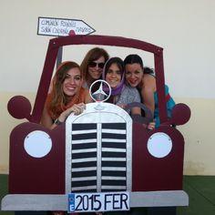 coche photocall