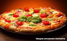 Receita de massa de pizza sem farelos para a dieta dukan.