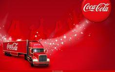 Coca Cola Christmas Truck Wallpaper - Nexus Wallpaper