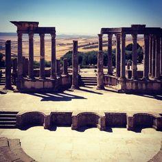 Théâtre antique de Dougga -Tunisie