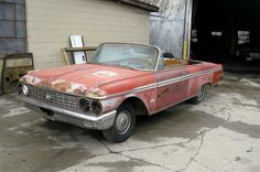 Galaxie Drop-Top: 1962 Ford Convertible - http://barnfinds.com/galaxie-drop-top-1962-ford-convertible/