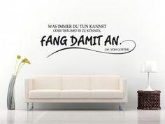 Wandtattoo Zitate und Weisheiten | Sprüche | Zitate | Wandtattoo Shop für Wandaufkleber - Wandtattoo4all - Style your Wall