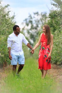 Sesja  narzeczeńska - przedślubna Magda & Sean