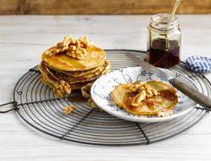 Vous n'aurez jamais assez de ces délicieux pancakes à base de la boisson à l'Avoine Alpro