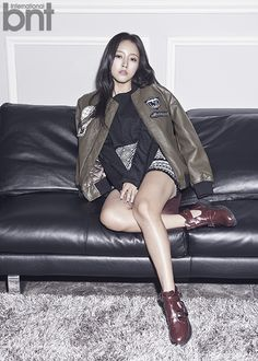 See T-ara SoYeon's brilliant pictures from her BNT pictorial ~ T-ara World ~ 티아라