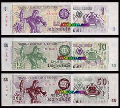 albania Currency | Albania banknotes - Albania paper money catalog and Albanian currency ...