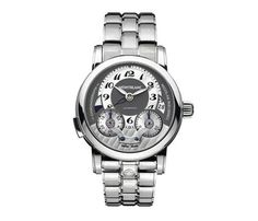 Montblanc Nicolas Rieussec Monopusher Chronograph Stainless Steel Mens Watch