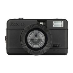 Lomography Fisheye One Camera - All Black ($64) ❤ liked on Polyvore featuring fillers, camera, accessories and black