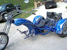 This is a really cool VW Trike !