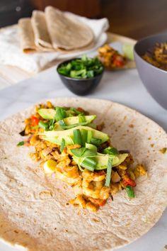 Favorite Vegan Tempeh Taco Filling from Steph at The Grateful Grazer.