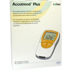 Accutrend Plus mg/dl - Sanitätsbedarf - Medizinische Geräte - Blutzuckermeßgeräte - Accutrend Plus mg/dl