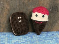 1500 Free Amigurumi Patterns: Scream for Ice-Cream Crochet Pattern