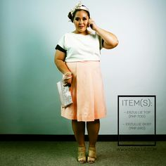 "Erzullie Fierce Plus Size Fashion Philippines: PLUS SIZE STYLE: #OOTD ""YOUNG AND GLAM"""