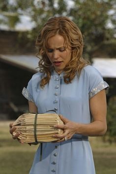 I WILL wear a dress like Ally's from The Notebook as my going-away dress at my wedding.