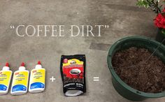 This is something I fumbled my way into when I was renovating a dollhouse, and now I use it all the time. I didn't know if anyone else knew coffee and glue make perfect fake dirt, but I thought I'd share.  Directions in link