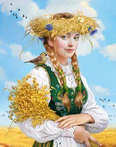 Овсянка. Волшебные иллюстрации Дорониной Татьяны (Doronina Tatiana).
